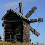 Molino de viento en Khizi