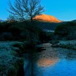Dawns in winter